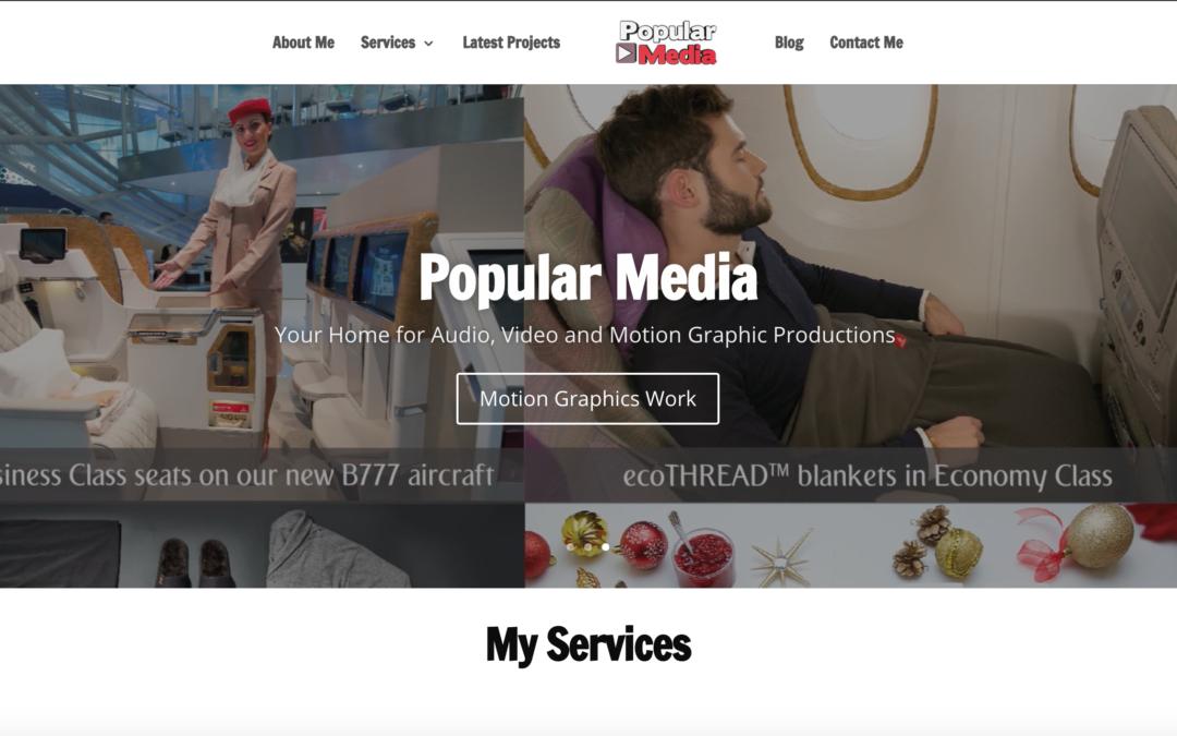 Launching the Popular Media Blog