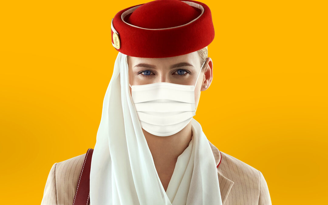 Mask Travel Messages Advert | Emirates Airline