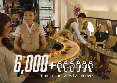 9 Facts about the A380 Onboard Lounge | Emirates Airline