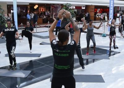 Dubai Fitness Challenge Emirates HQ Pop-up Gym | Emirates Airline