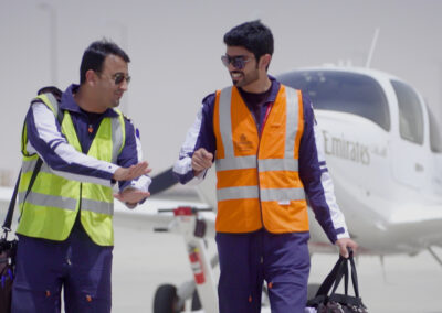 The Emirates A380 lands in Muscat | Emirates Airline
