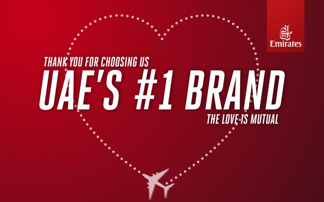 YouGov Ranks Emirates the Strongest Brand 3 years running   Emirates Airline