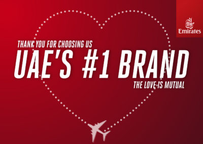 YouGov Ranks Emirates the Strongest Brand 3 years running | Emirates Airline